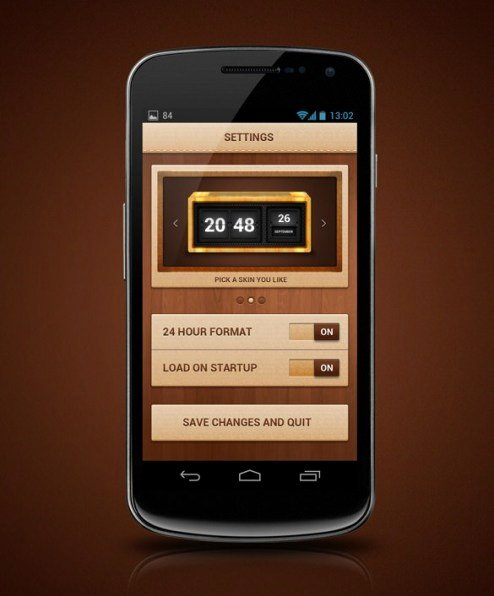6 android App Templates Free Download Website