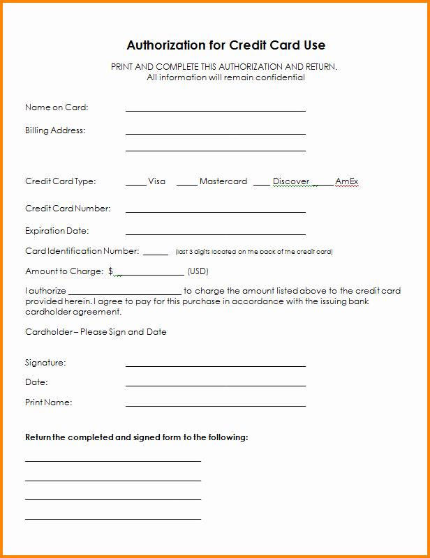 6 Authorization form