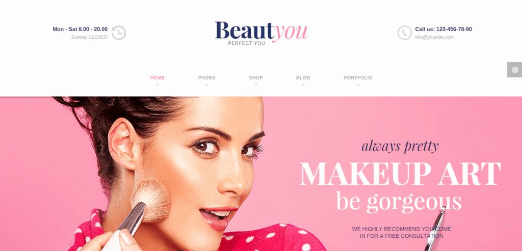 6 Best Hair Salon Beauty & Spa Wordpress themes 2019
