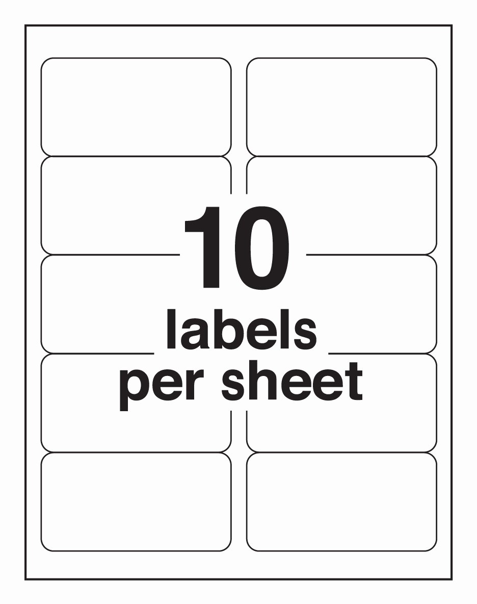 6 Best Of Avery Label Sheet Template Avery Label