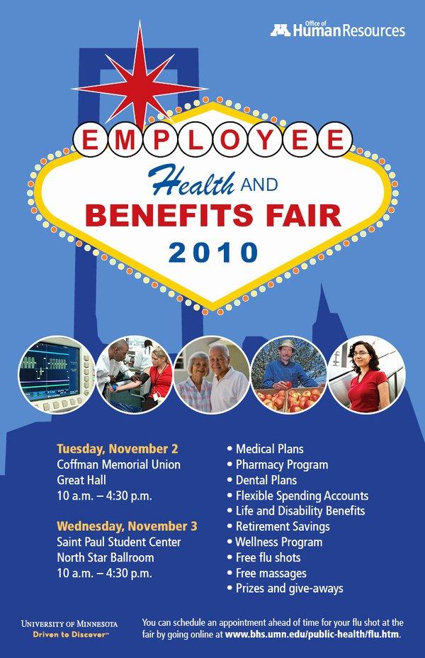 6 Best Of Benefits Fair Flyer Benefits Fair Flyer