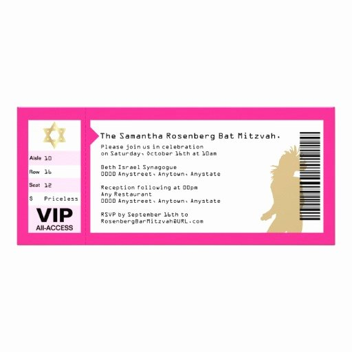 6 Best Of Blank Concert Ticket Invitation Free