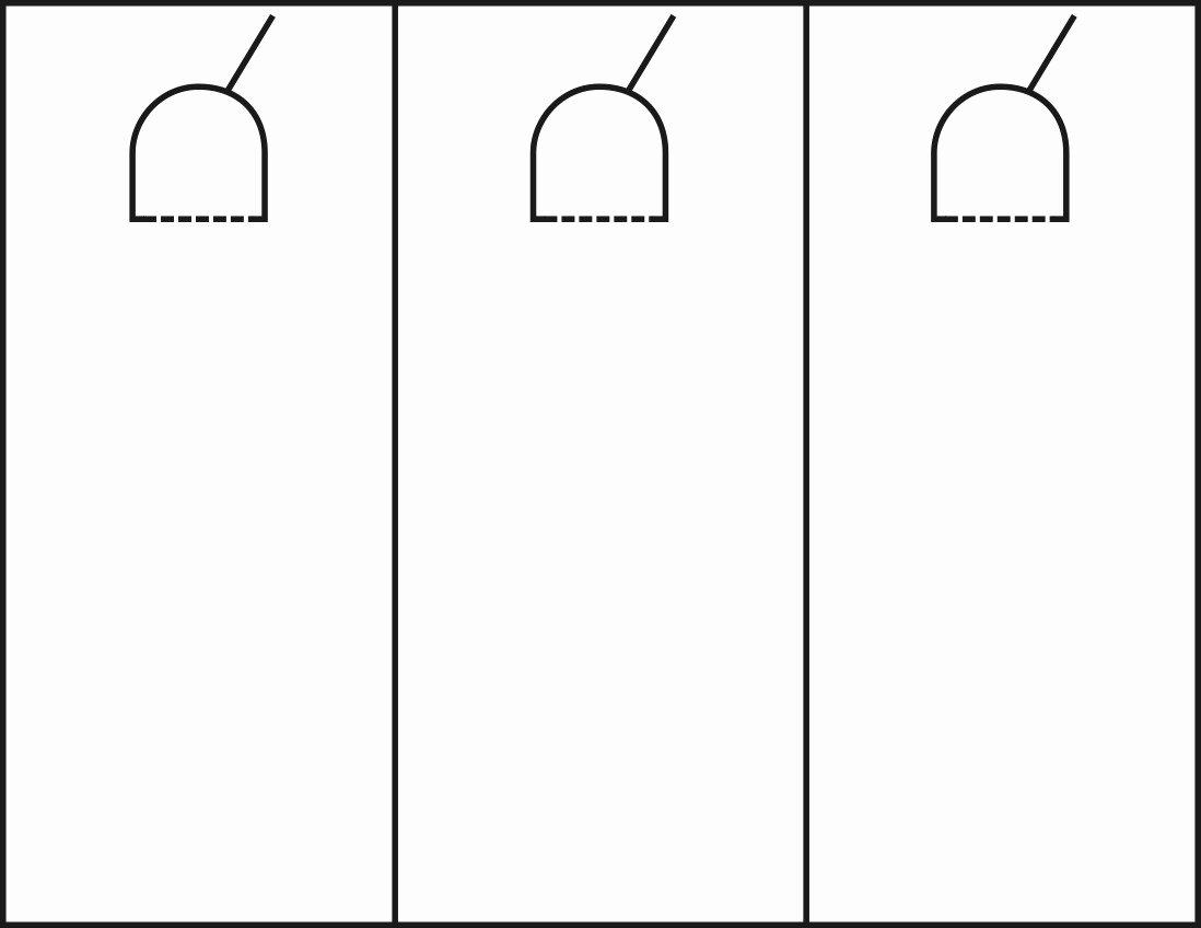 6 Best Of Blank Printable Door Knob Hangers