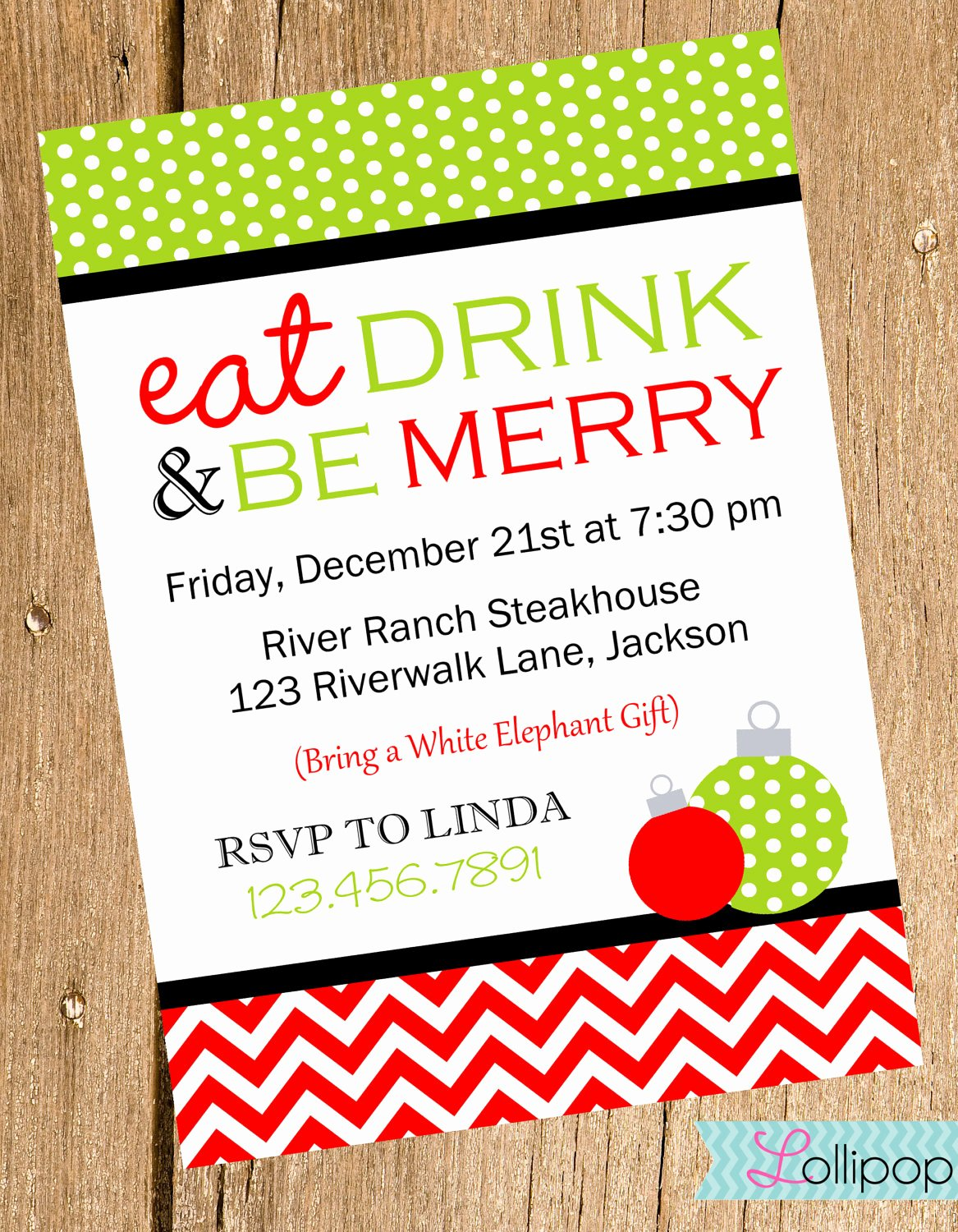6 Best Of Christmas Holiday Luncheon Flyer Template