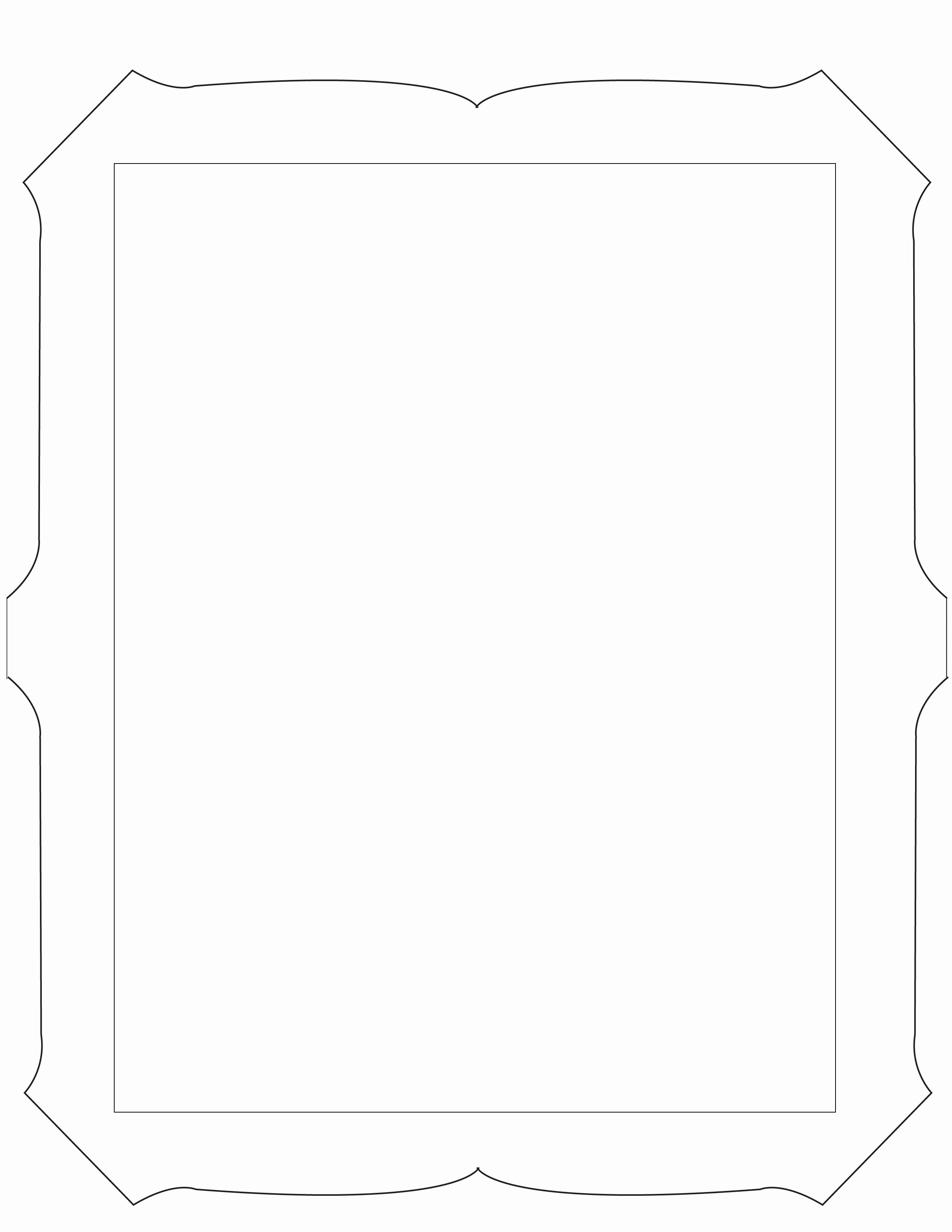 6 Best Of Cool Picture Frame Design Printable