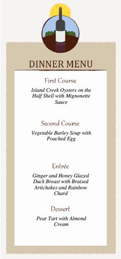 6 Best Of Free Printable Dinner Menu Cards Dinner