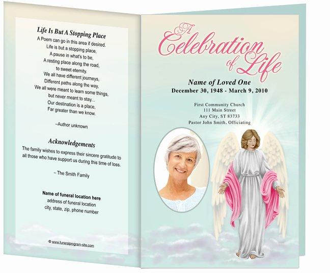 6 Best Of Free Printable Funeral Memorial Card