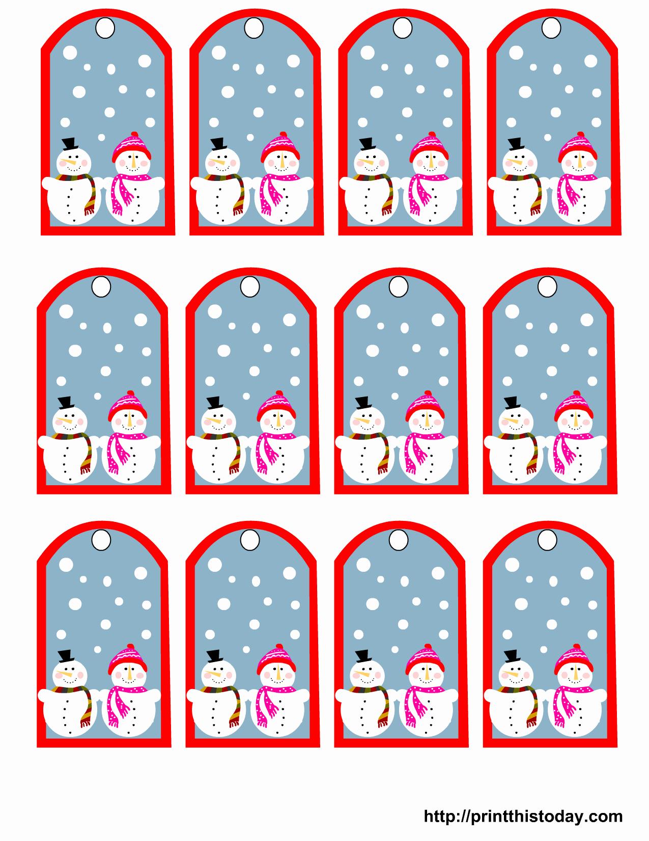 6 Best Of Free Printable Gift Tags Printable