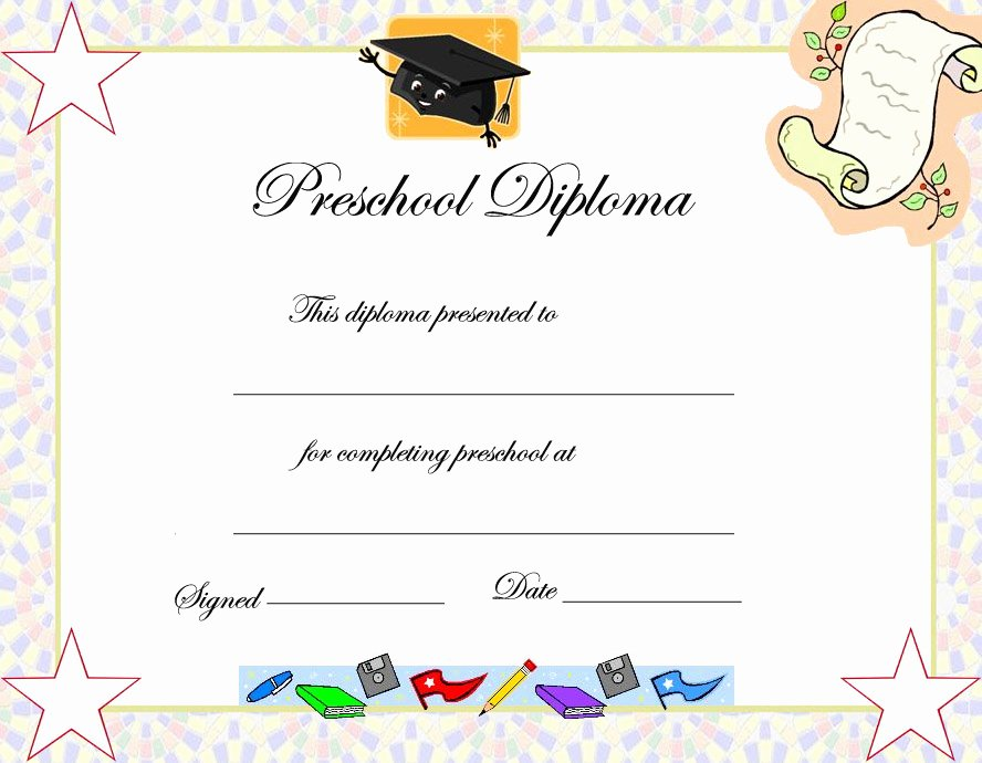 6 Best Of Free Printable Kindergarten Graduation