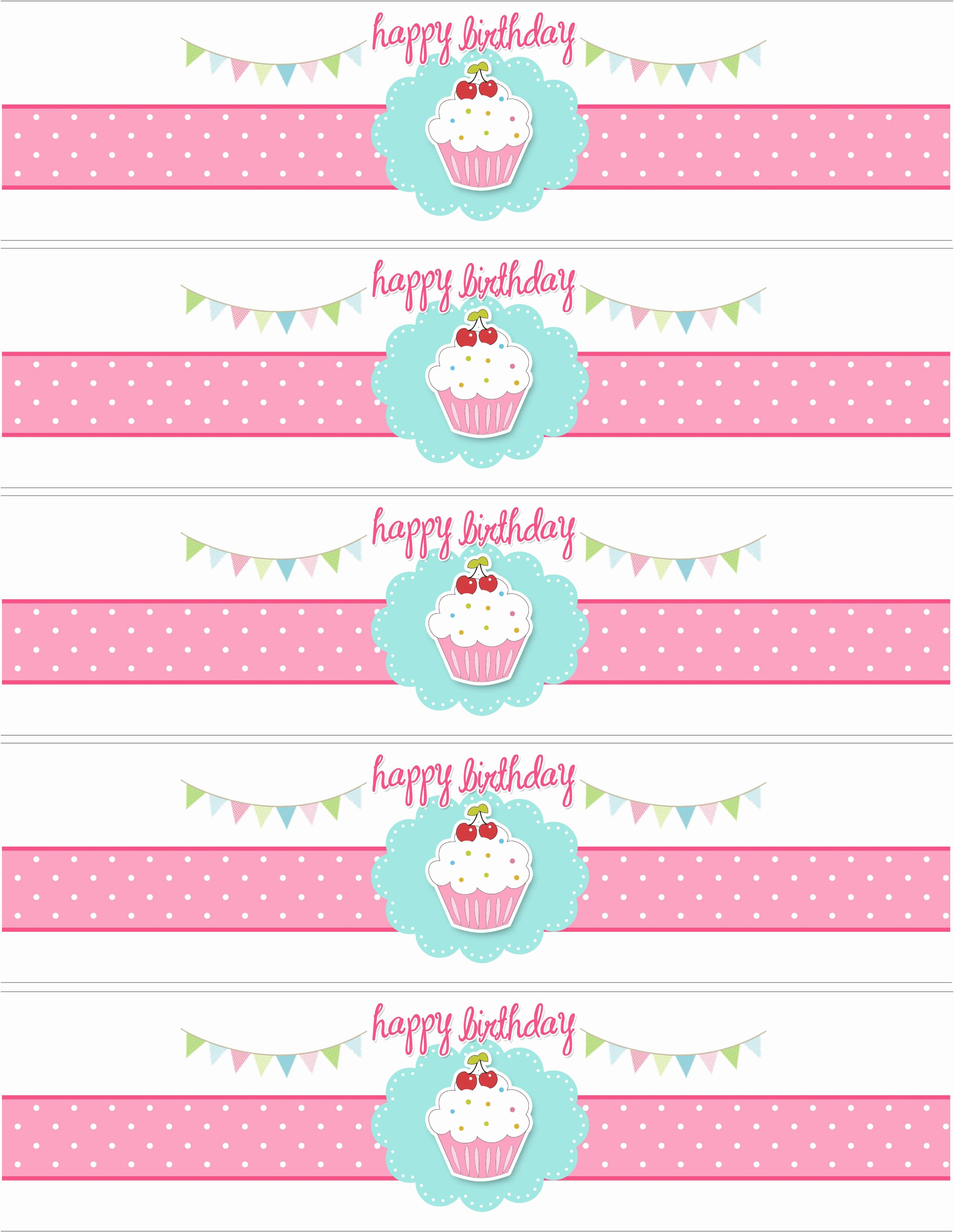 6 Best Of Free Printable Party Label Templates