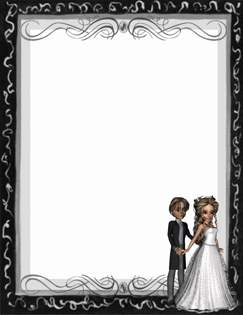 6 Best Of Free Printable Wedding Stationery