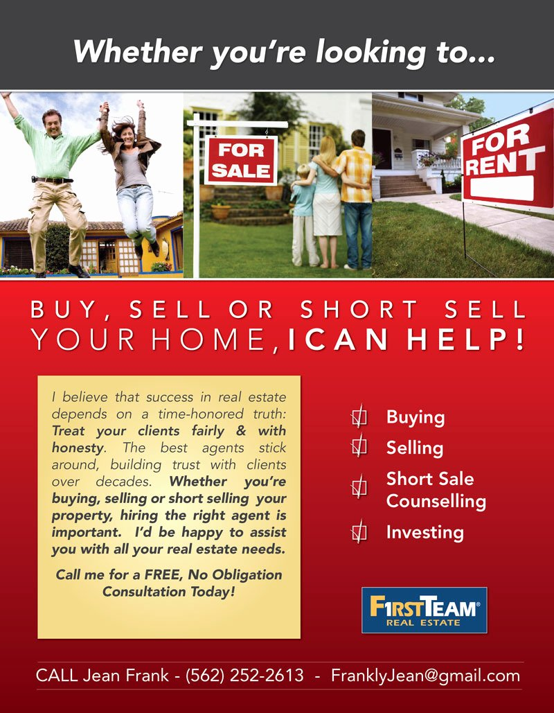 6 Best Of Mortgage Flyer Ideas Real Estate Agent