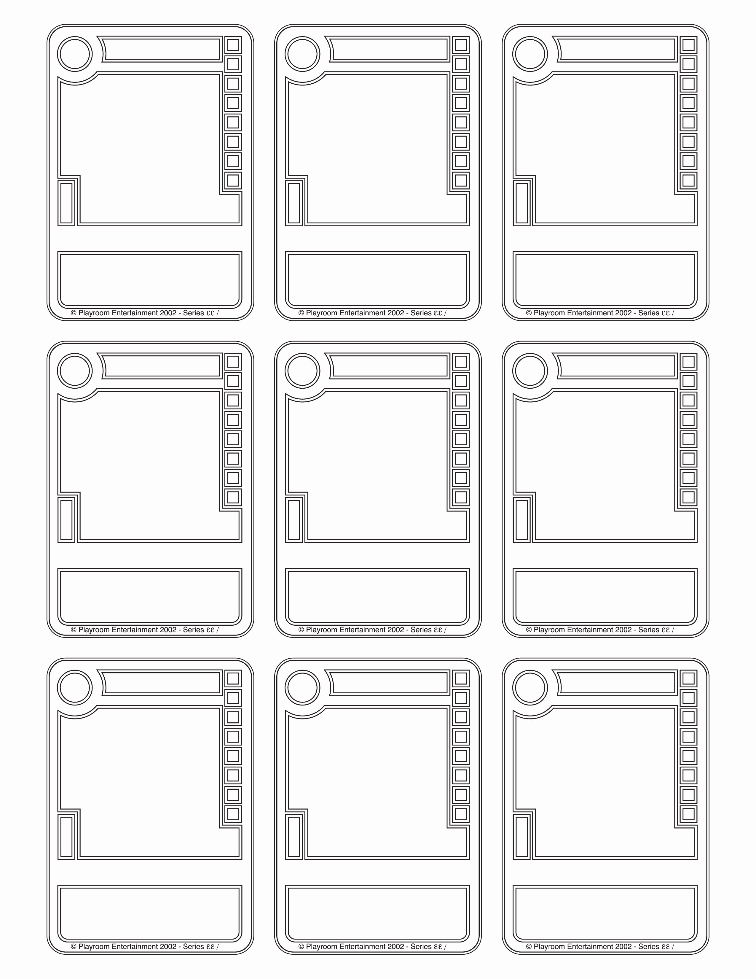 6 Best Of Playing Card Box Printable Pdf Template