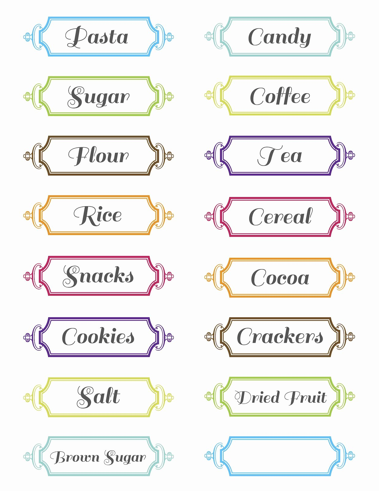 6 Best Of Printable Labels Free Download Free