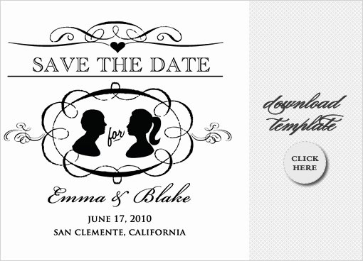 6 Best Of Save the Date Templates for Word Free