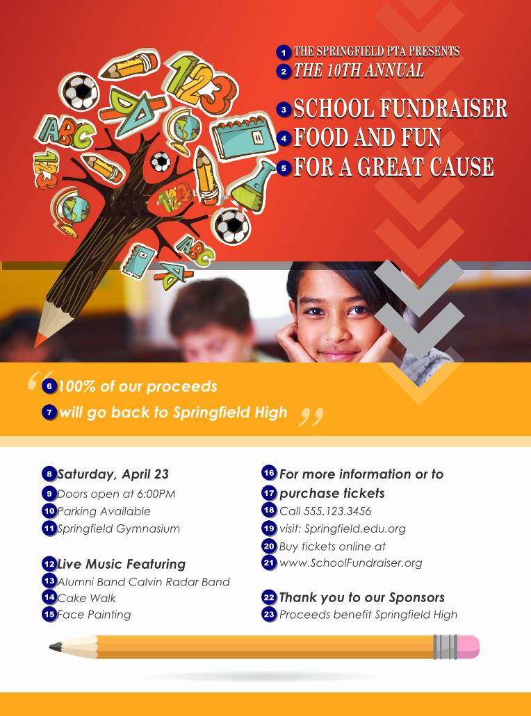 6 Best Of School event Flyer Design Business