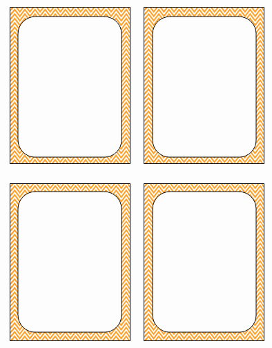 6 Best Of Ten Free Printable Flash Cards Template