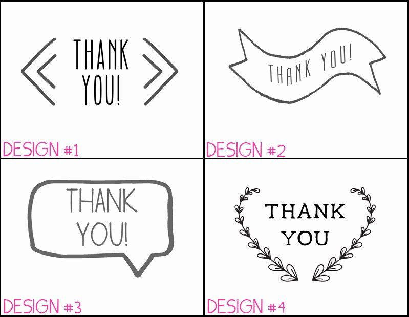 6 Best Of Thank You Note Paper Printable Thank