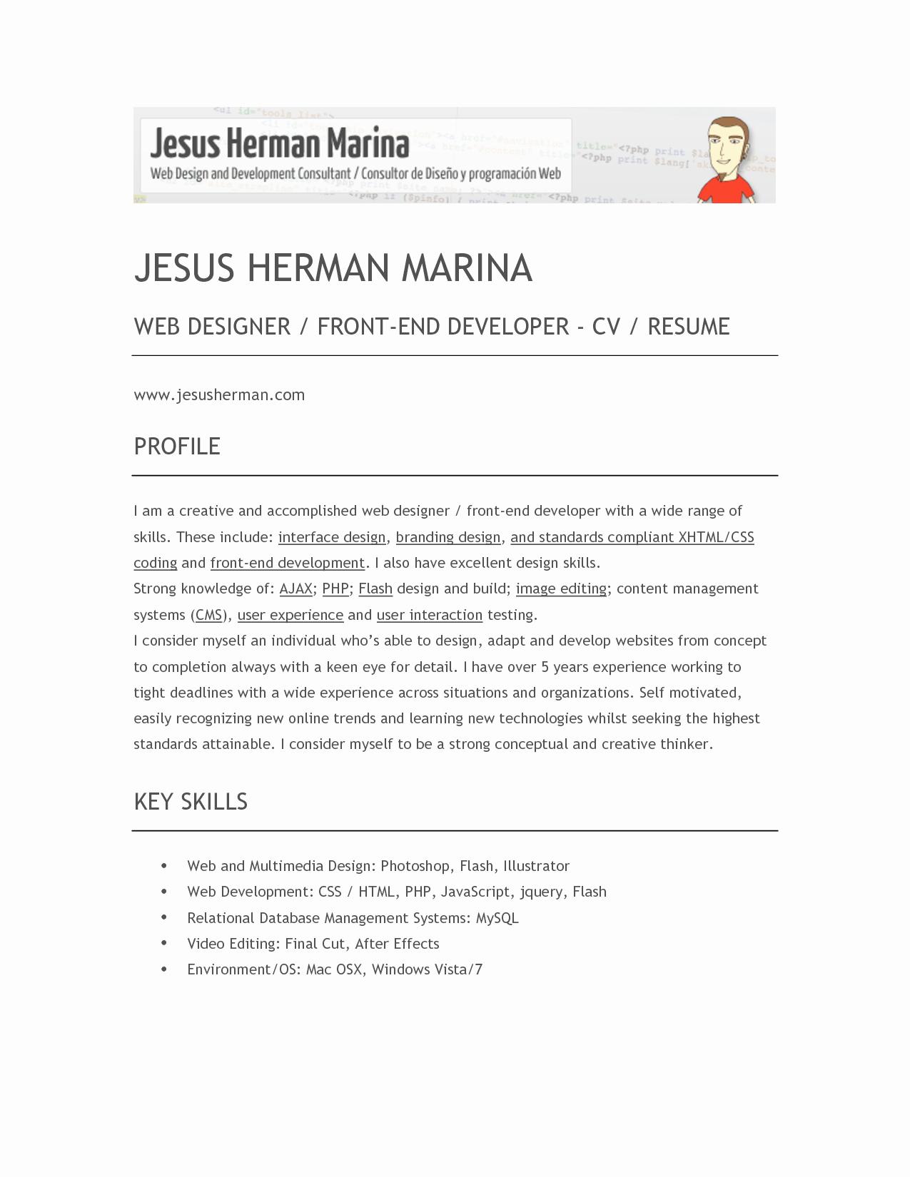 6 Best Of Ux Designer Resume Ux Designer Resume