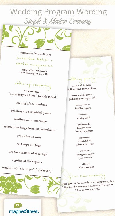 6 Best Of Wedding Program Templates Catholic