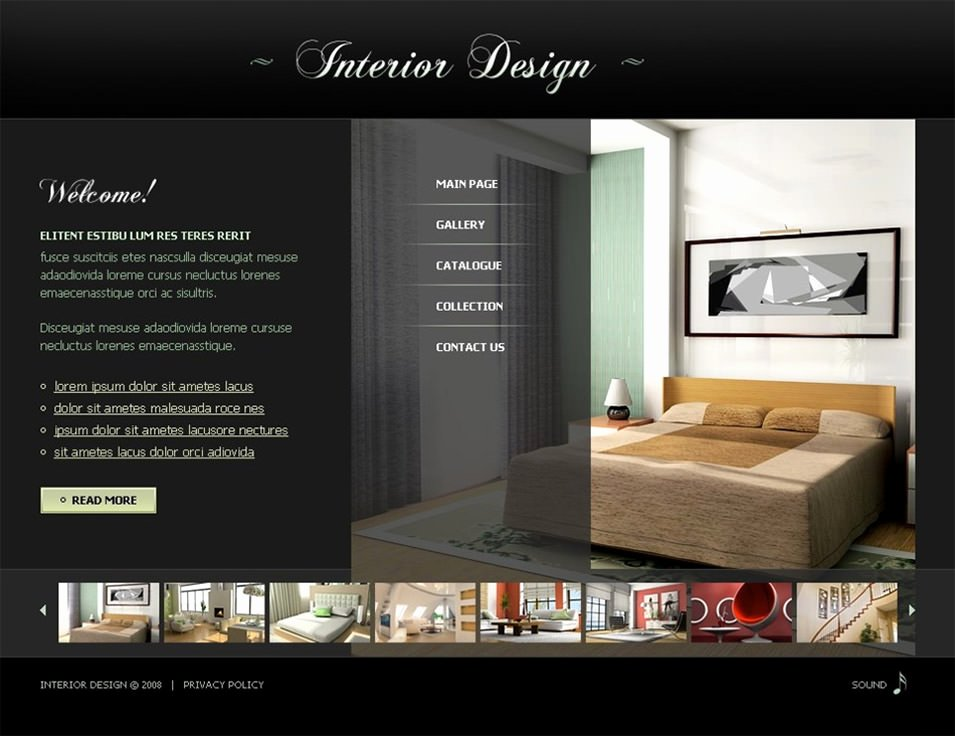 6 Best Swish Interior Website themes & Templates