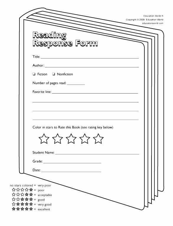 6 Book Review Template for High School Yryui