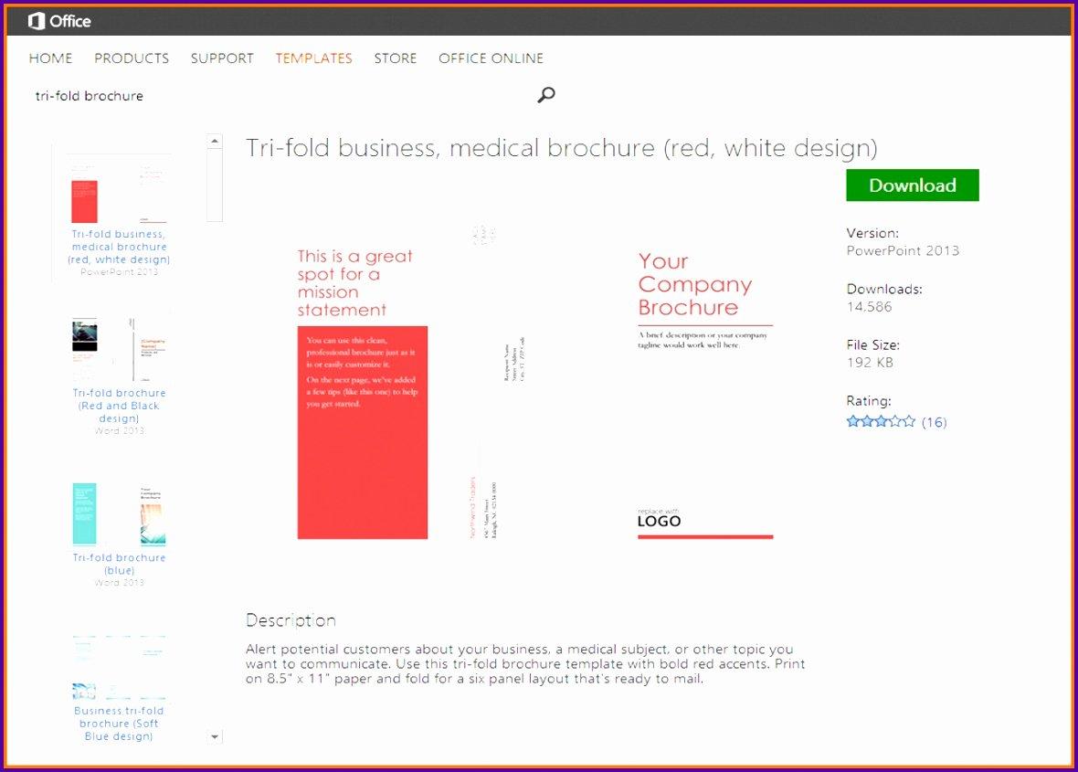 6 Brochure Templates Microsoft Word Tipstemplatess