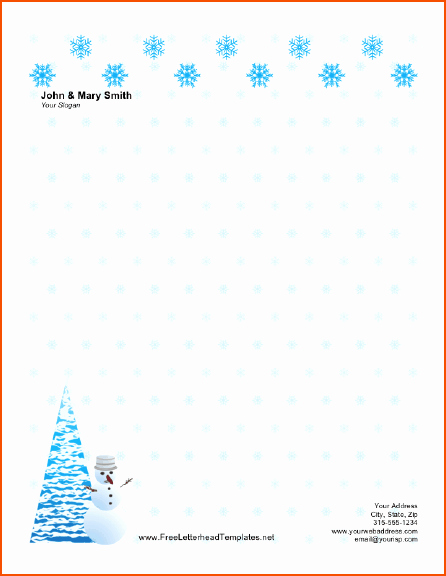 6 Christmas Templates for Word Bookletemplate