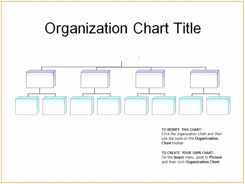 6 Editable organizational Chart Template Ppfop