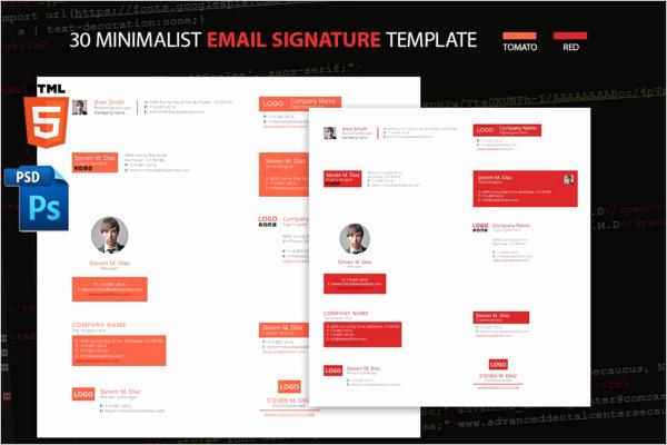 6 Email Signature Etiquette Templates Free Examples