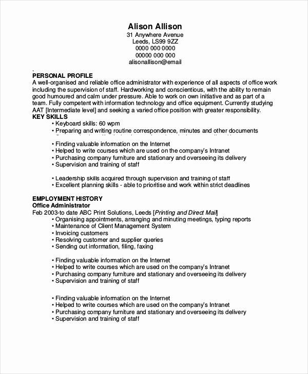 6 forklift Resume Templates Pdf Doc