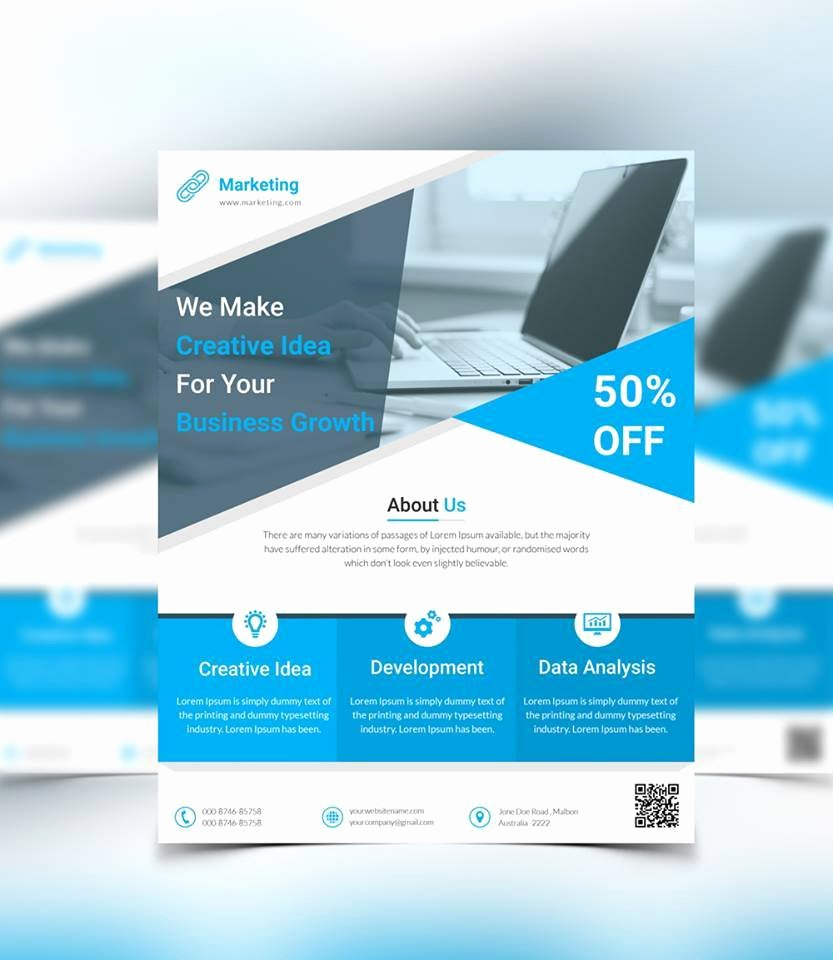 6 Free Flyer Templates Download Print Ready Flyer Templates