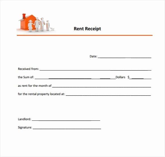 6 Free Rent Receipt Templates Excel Pdf formats
