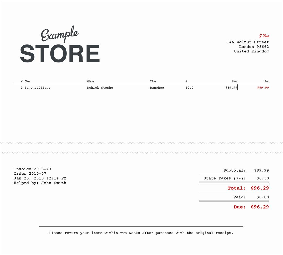 6 Free Sales Receipt Templates Excel Pdf formats