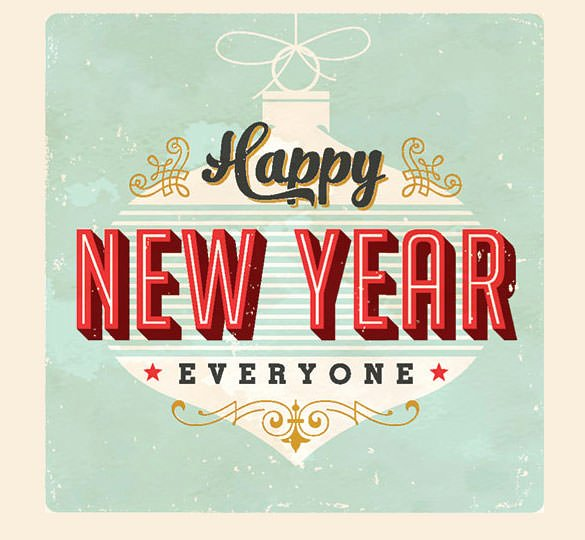 happy new year email templates