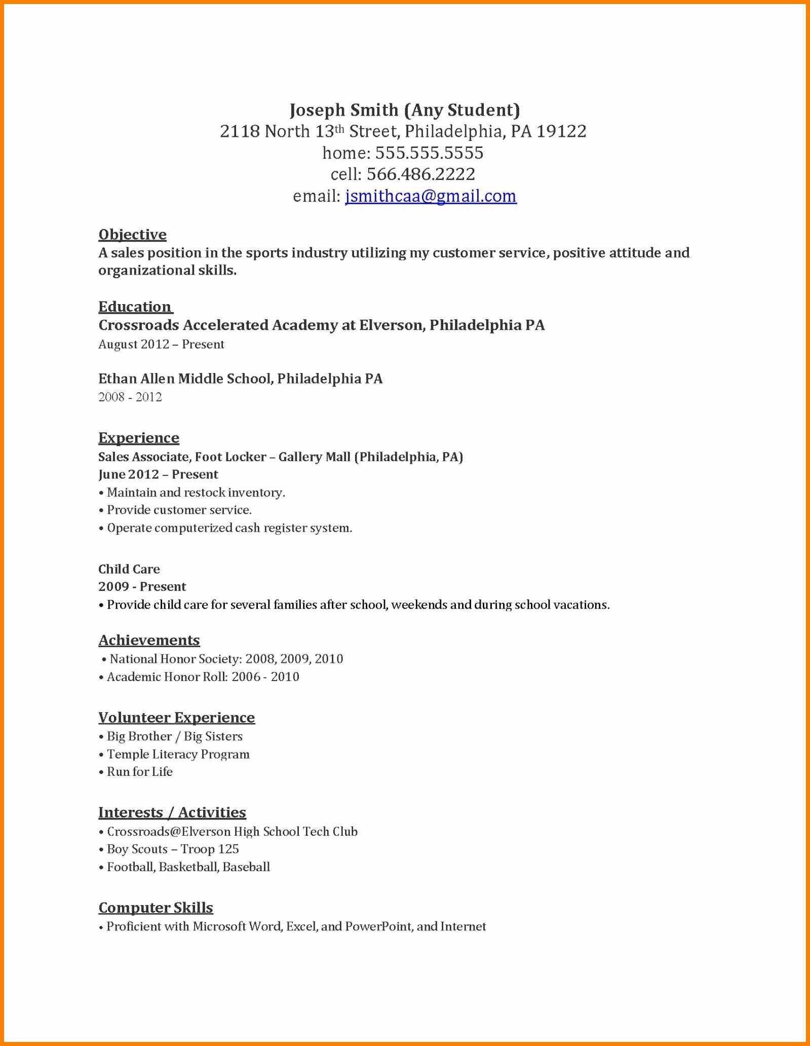 6 Help Me Write A Resume