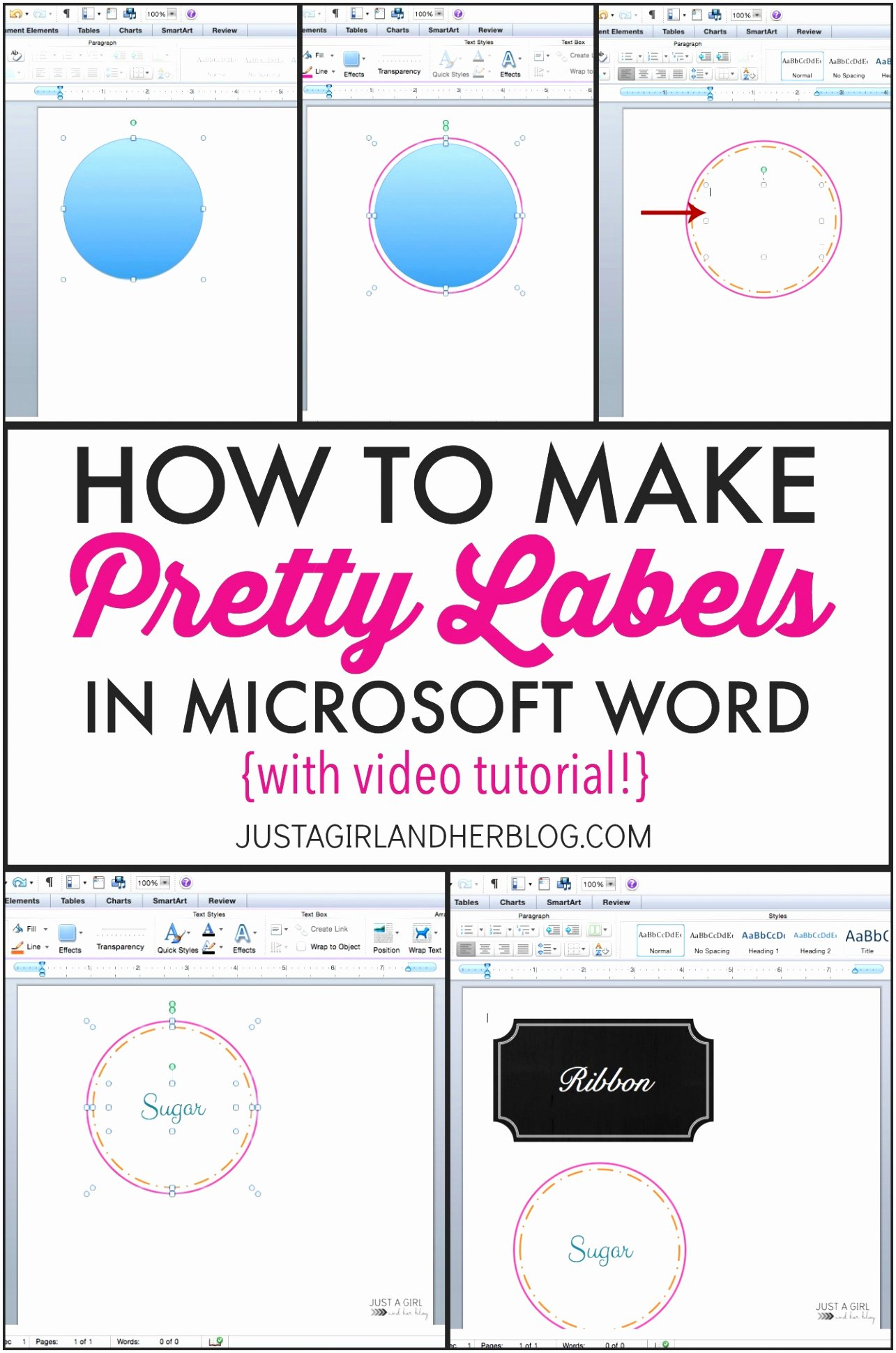 6 How to Create A Label Template In Word Patis