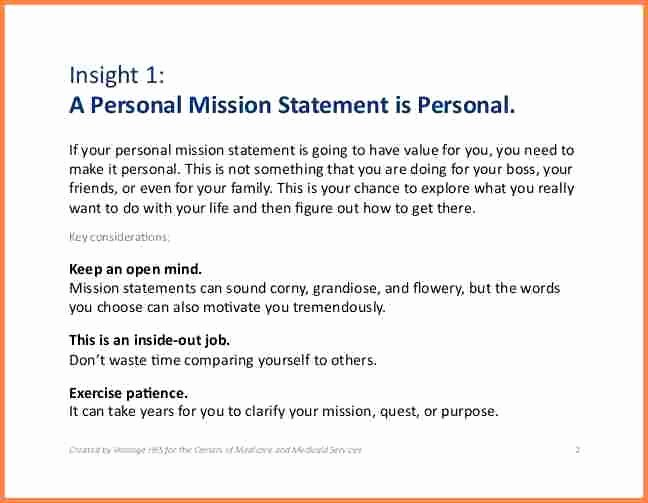 6 How to Write A Personal Mission Statement
