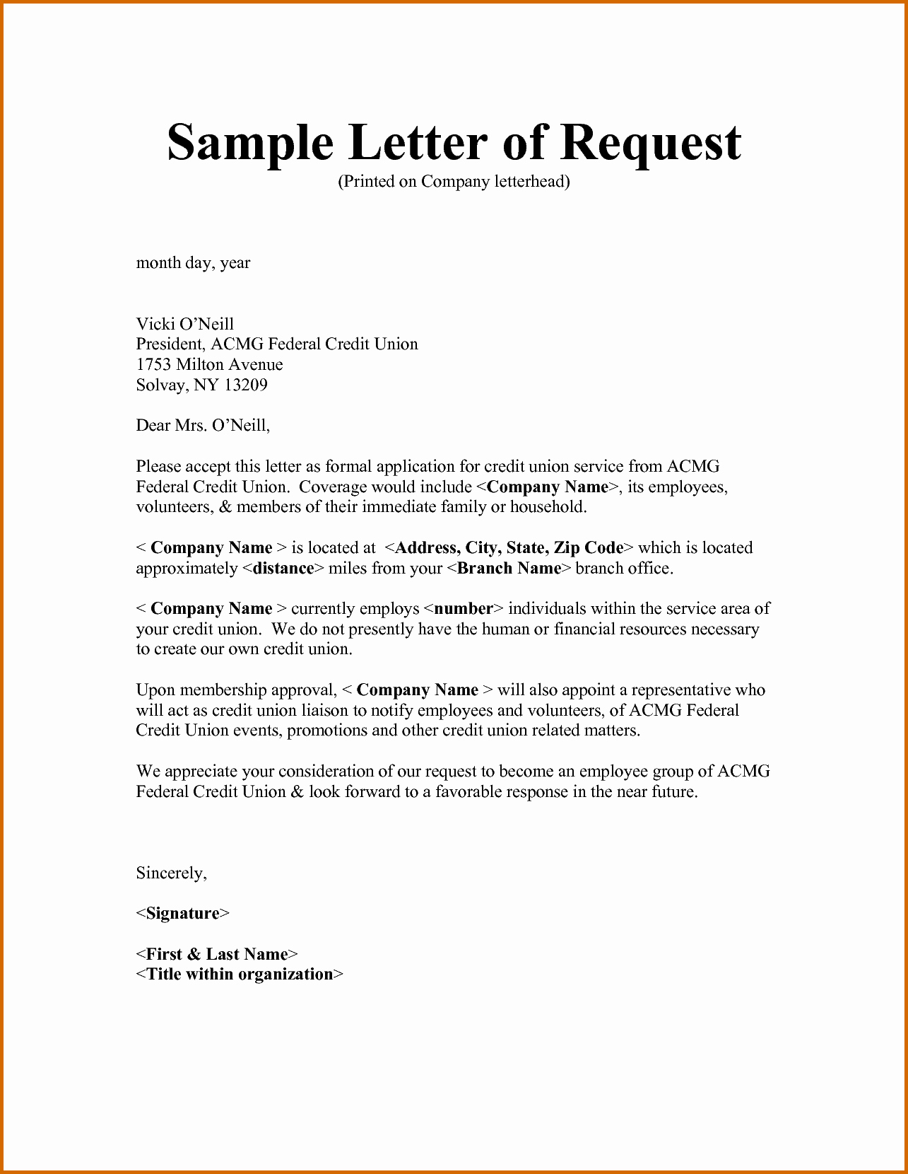 6 how to write a request letter