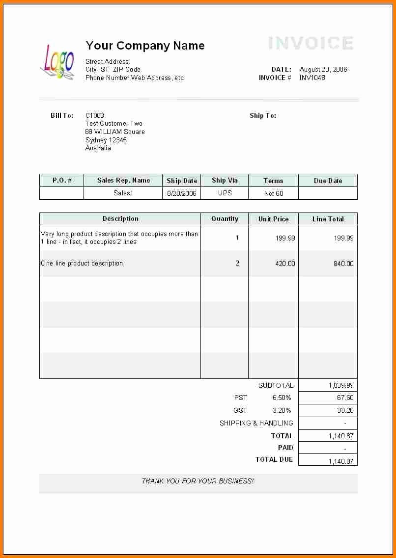 6 Invoice Template Pages