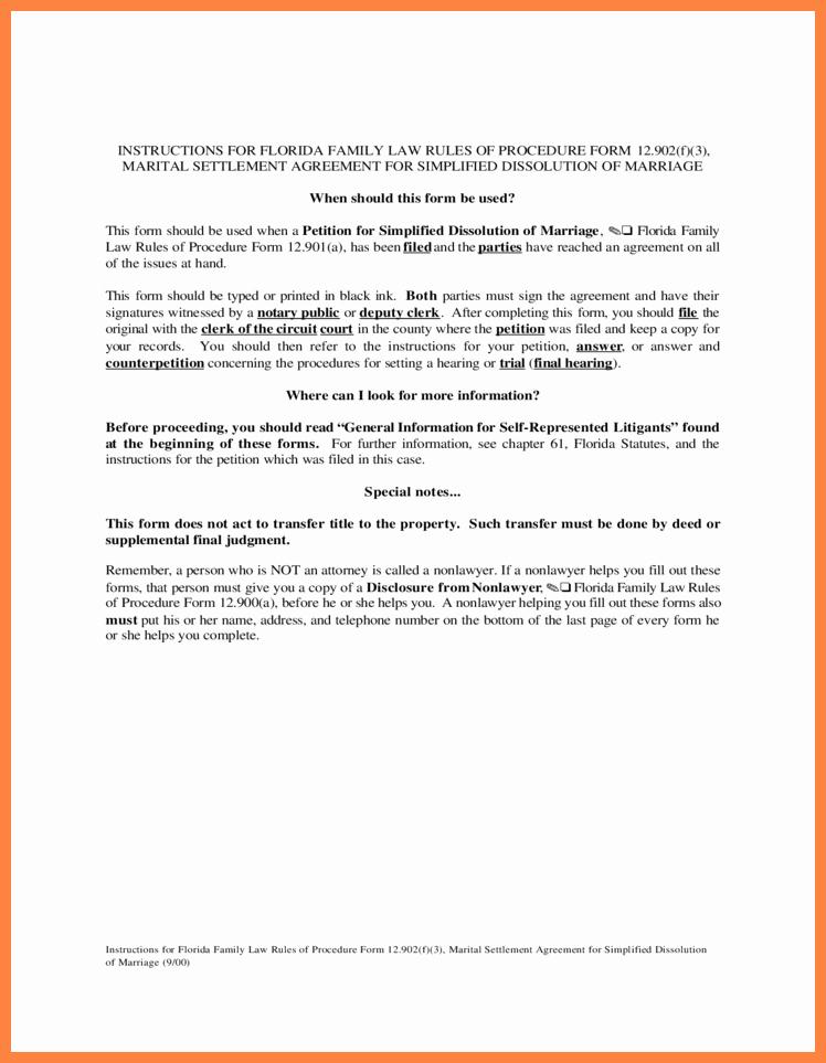6 Marital Settlement Agreement