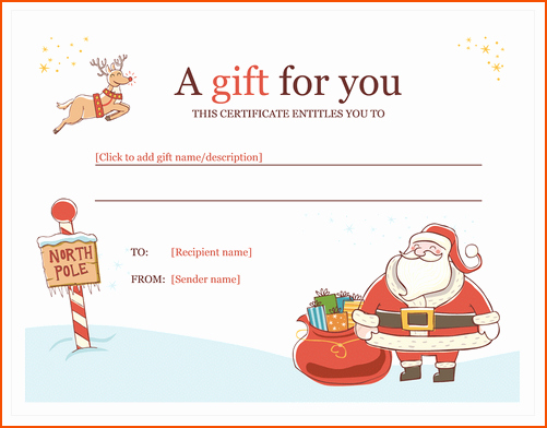 6 Microsoft Word Christmas Templates Bookletemplate