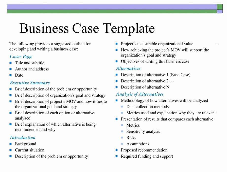 6 New Hire Business Case Template Utpet