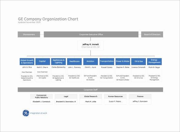 6 Non Profit organizational Charts