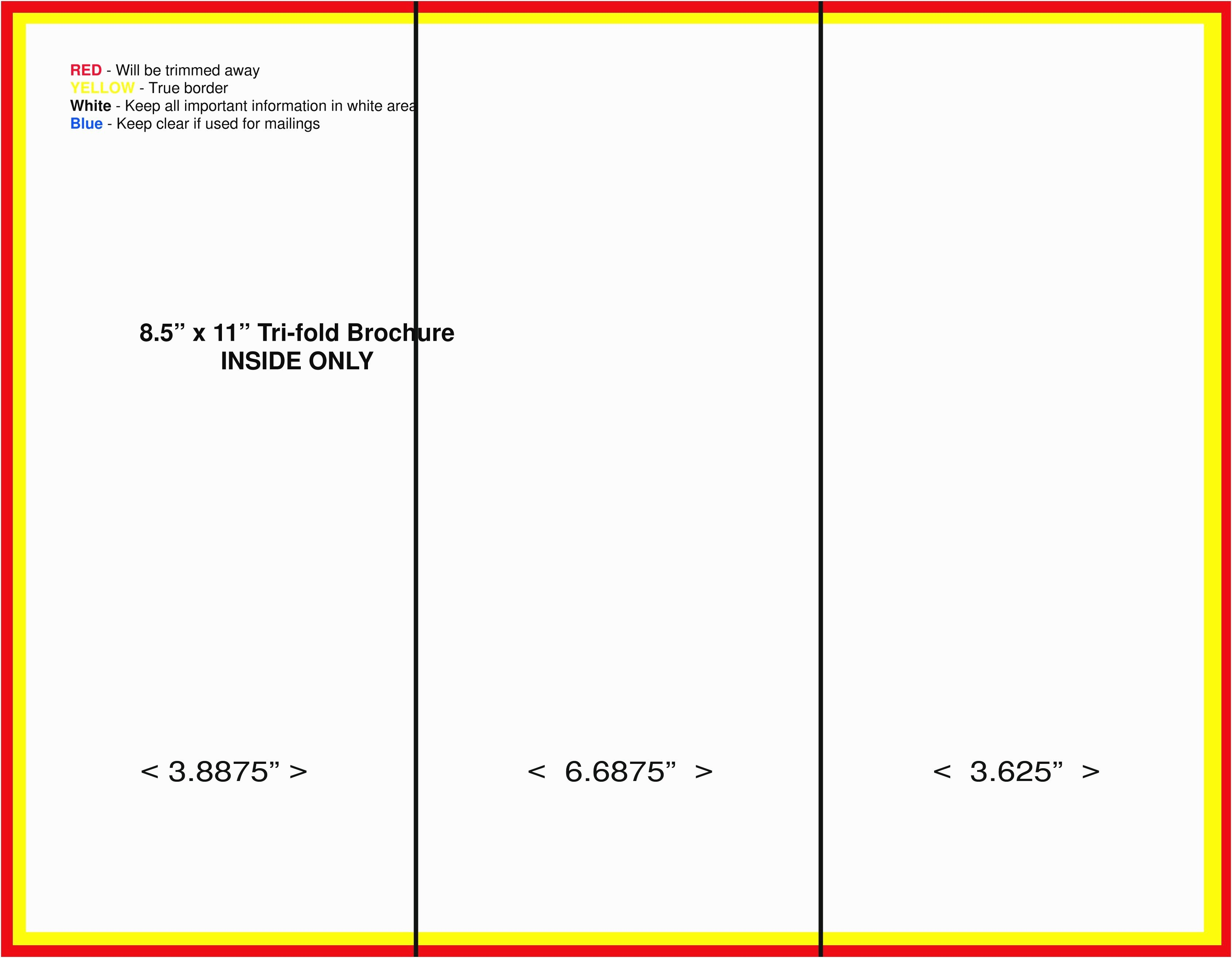 6 Panel Brochure Template Google Docs Reeviewer