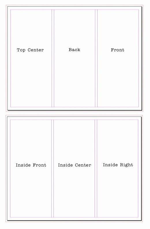 6 Panel Brochure Template Google Docs