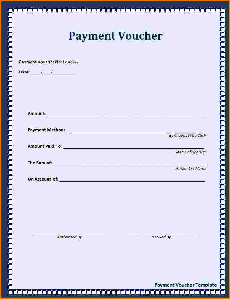 6 Payment Receipt Template