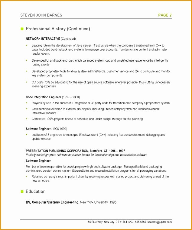 6 Puter Programmer Resume Free Samples Examples