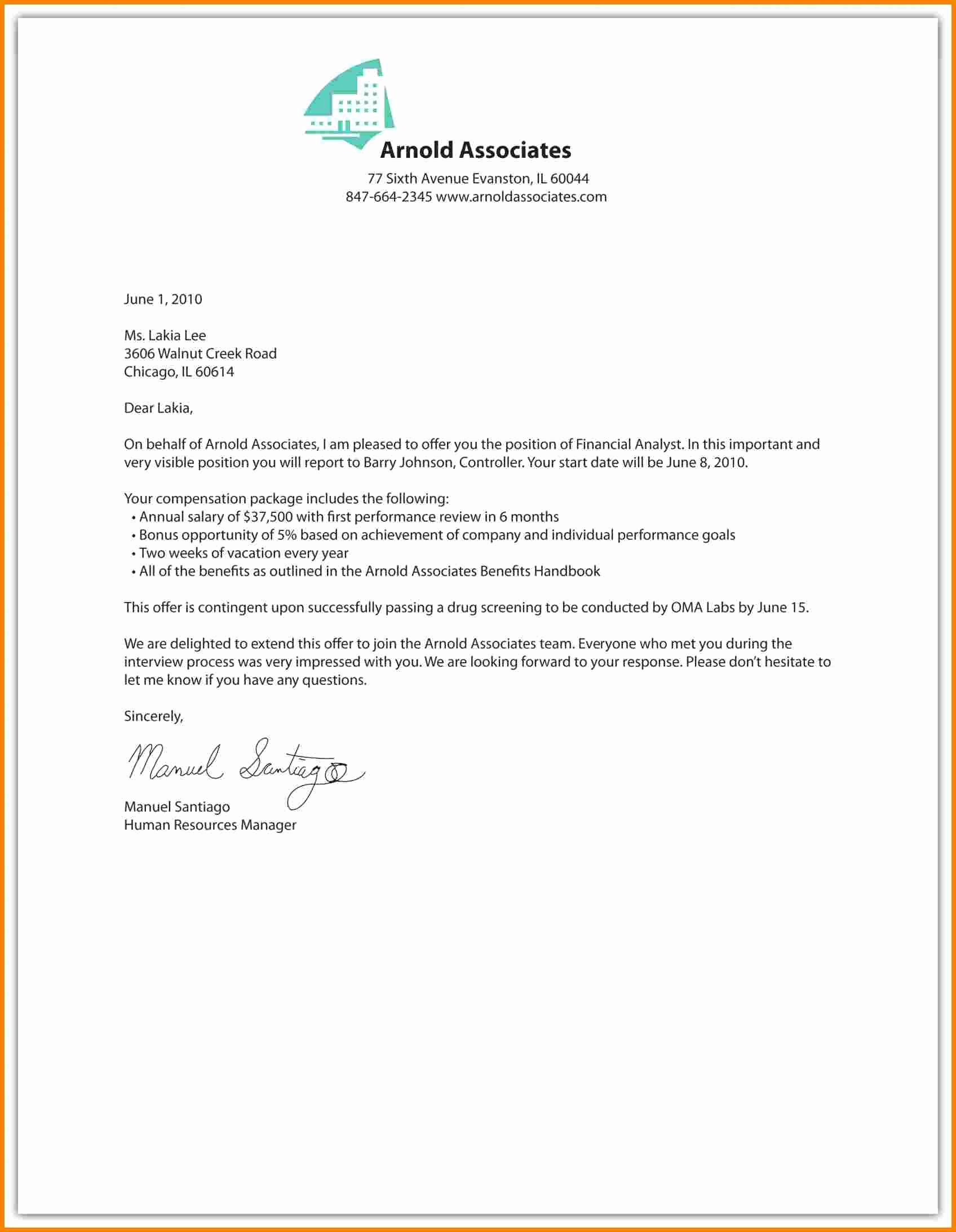 6 Salary Increase Letter Template Uk
