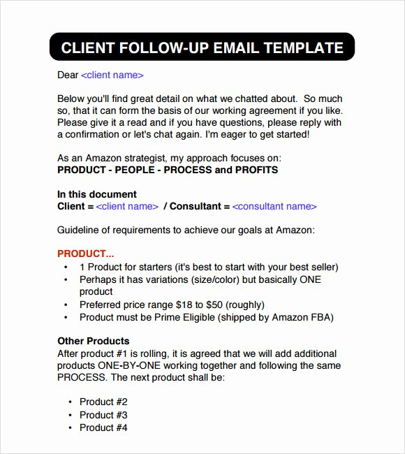6 Sample Follow Up Emails